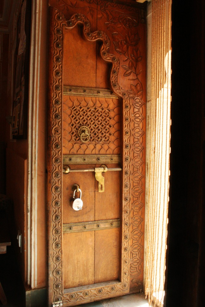 Door at Anokhi Museum,  Jaipur