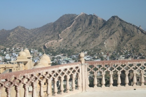View from the Amber Fort, Jaipur