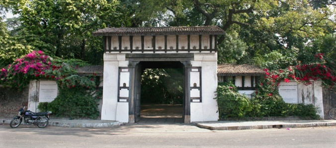 Main gate of The Calico Museum