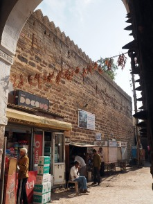 17th century wall in Bhuj