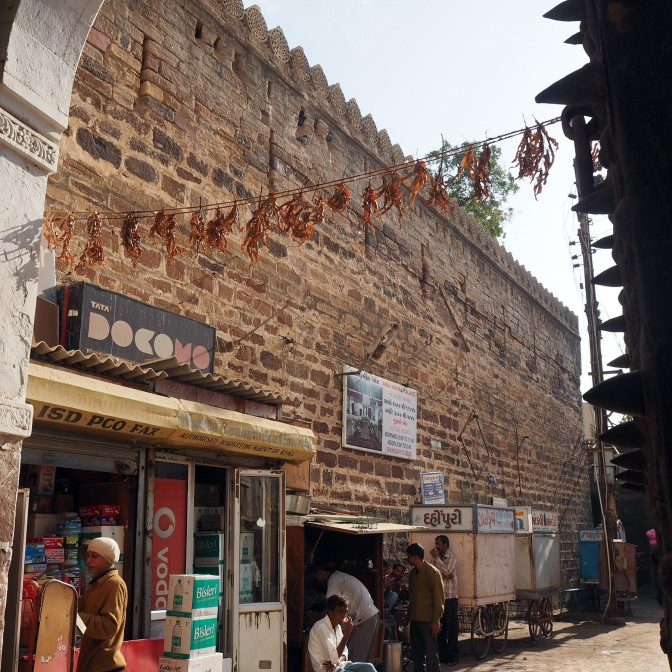 17th century wall in Bhuj