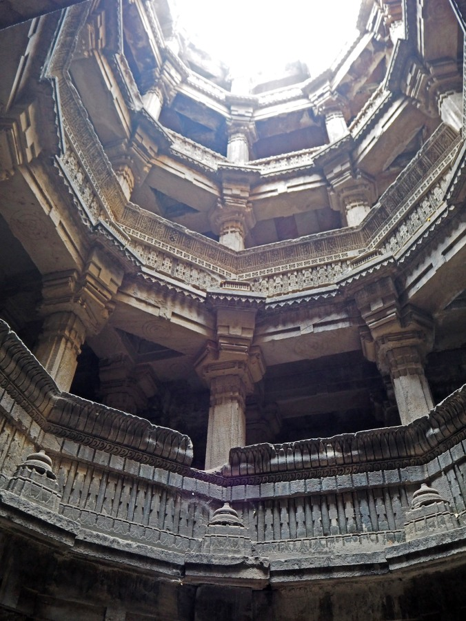 View from the bottom of Dada Harir Vav
