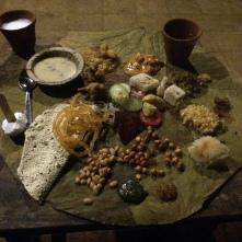 Traditional Gujarati thali