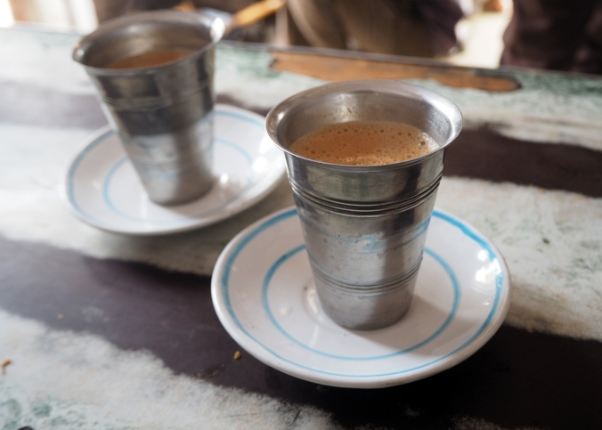 Hot masala chai