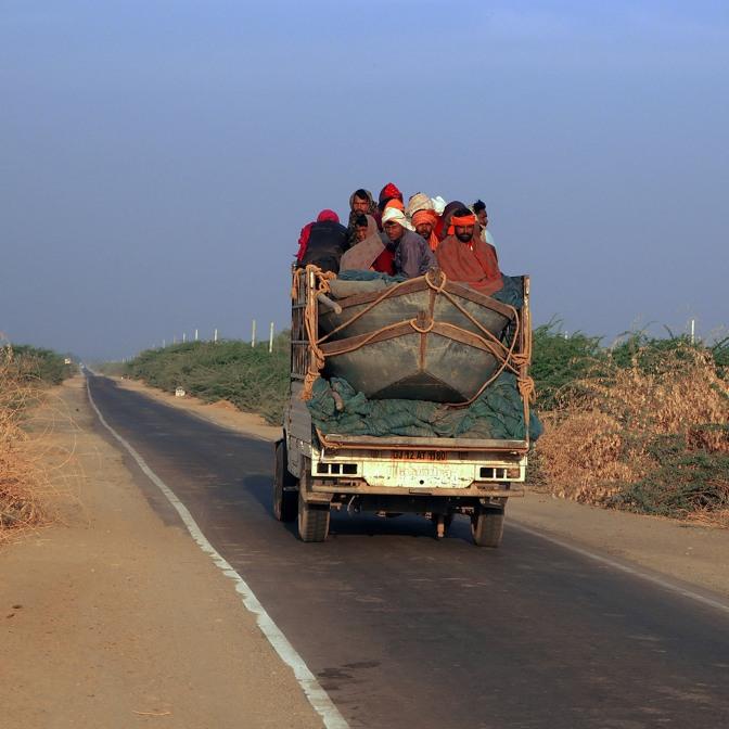 A road less travelled, Banni Grasslands