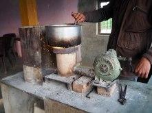 Roadside chai stall
