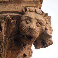 Detail of column, Prag Mahal, Bhuj