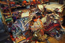 Treasure trove of old textiles, Bhuj