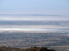 View of the White Desert from Kalo Dungar