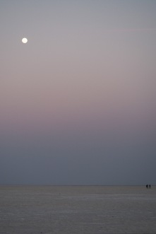 Full moon in the White Desert