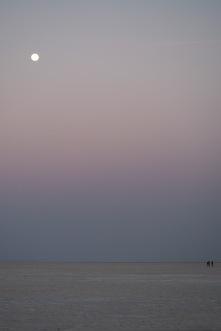 Full moon in the White Desert