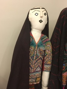 A costume in the museum