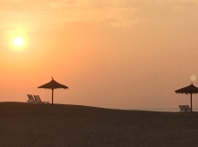 Mandvi Beach sunset