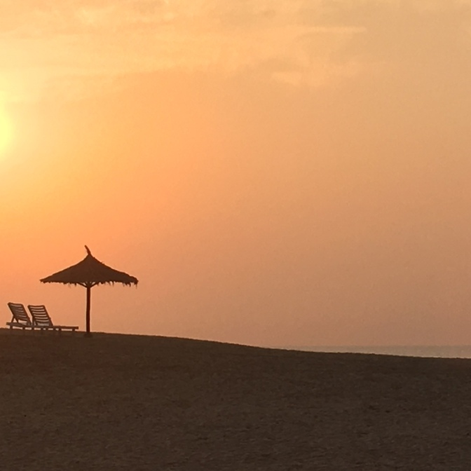 Mandvi Beach sunset