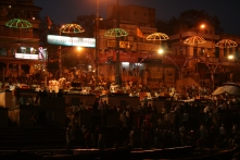 Aarti at Dasaswamedh Ghat