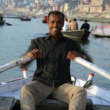 Ganges boat ride