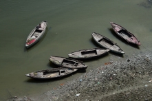 Boats on Ganges