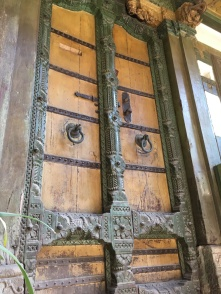 Carved door in the old Ahmedabad