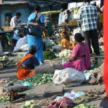 Vegetable marrket in Ahmedabad