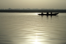 Fishing in the Ganges
