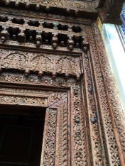 Carved doorway, Mandawa